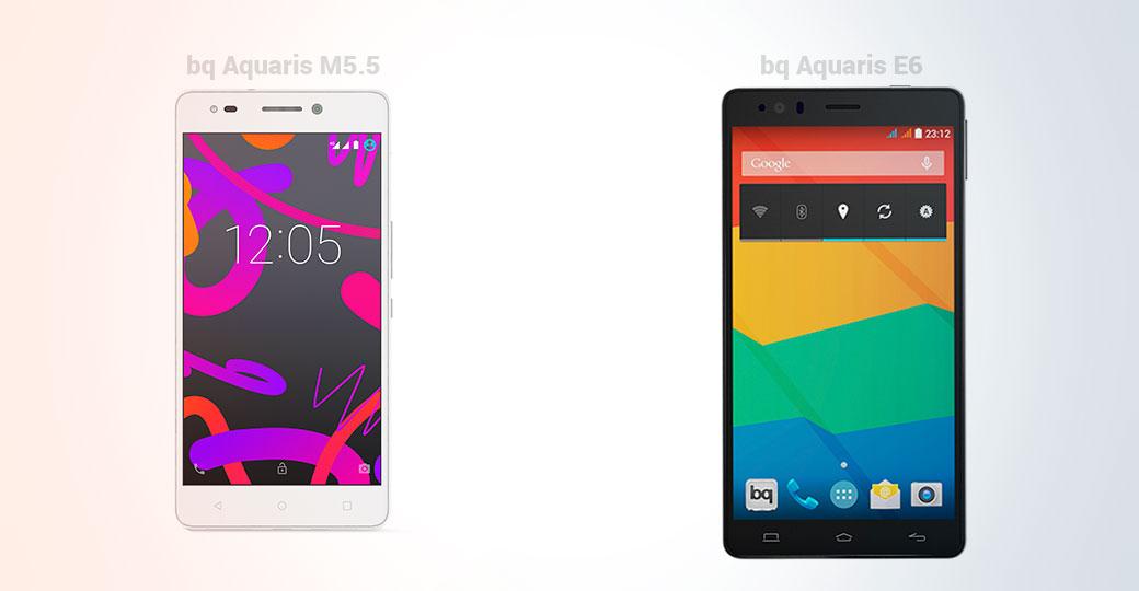 IPHONE SE VS BQ AQUARIS M5